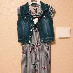 Limited Too Girls Romper